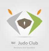 Ikona obchodního klubu Judo