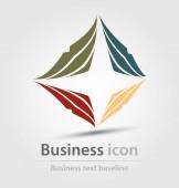 Původně vytvořená ikona podnikání