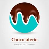 Chocolaterie üzleti ikon