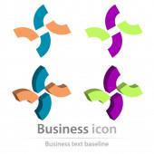 původně vytvořena ikona podnikání