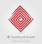 Ikona obchodní agentura financování a dotace