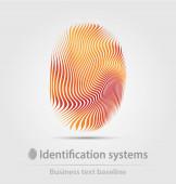Identifikační systémy podnikání ikona
