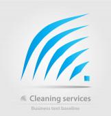 Úklidové služby obchodní ikona