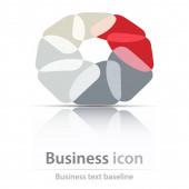 Originally created business icon