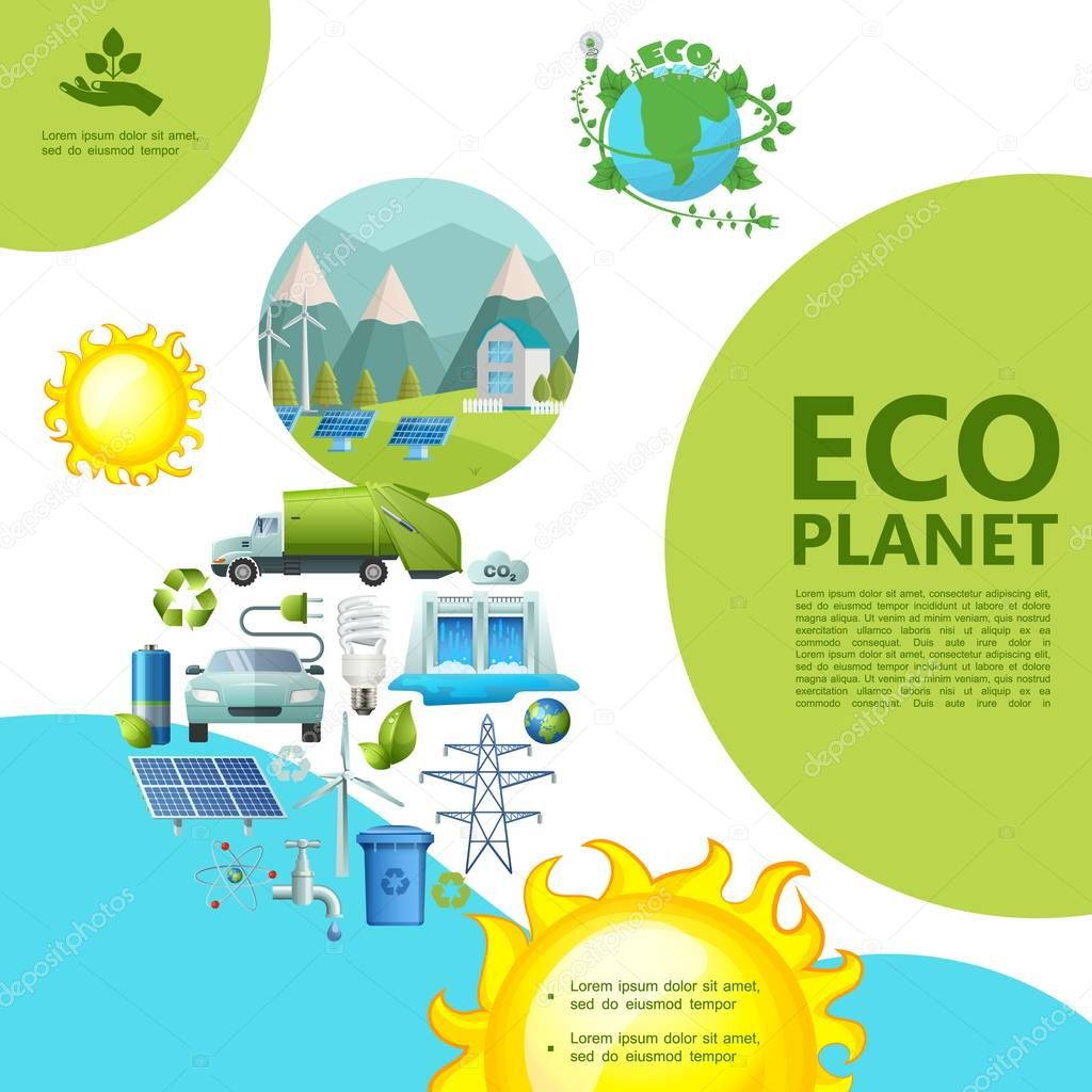 Flat Ecology Template