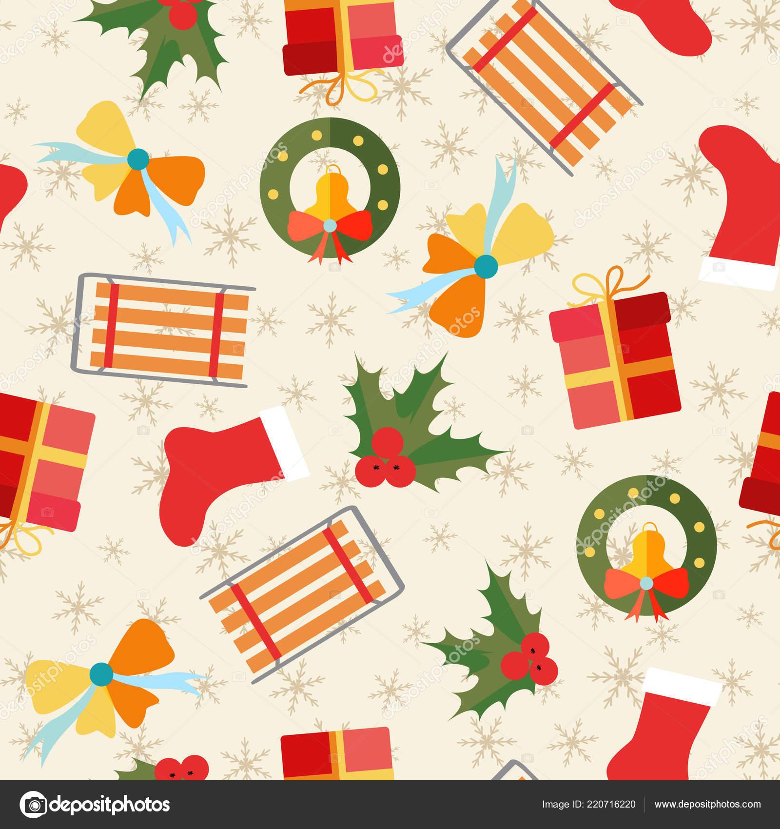 patrón sin costuras de Navidad — Vector de stock © Mogil #220716220