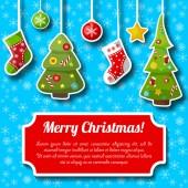 Photo Christmas Decorations Postcard