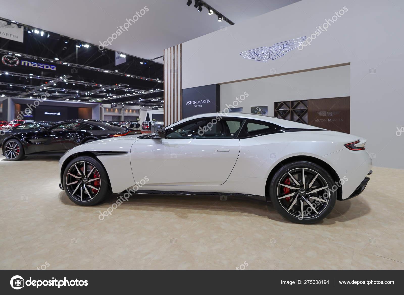 Bangkok Thailand March 2019 Aston Martin Db11 Turbo Coupe White Stock Editorial Photo C Pomphotothailand Gmail Com 275608194