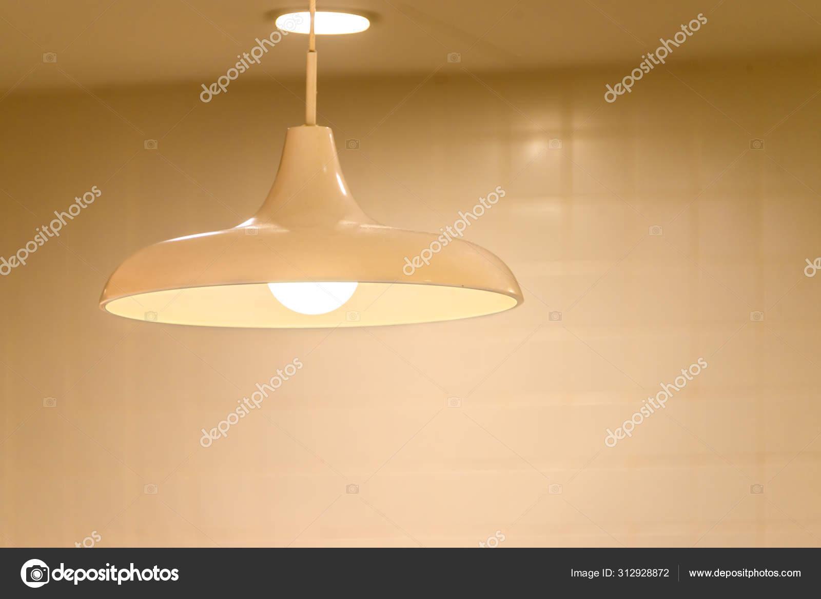 Modern Ceiling Lamp Interior Lighting Bulbs Decoration Contemporary Stock Photo C Pomphotothailand Gmail Com 312928872