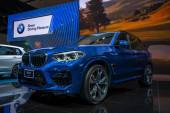 Bangkok, Thajsko - 28. listopadu 2019: BMW X3 xDrive20d na výstavě Motor Expo 36th 2019 na výstavišti Impact Exhibition Center, Muang Thong Thani, Thajsko