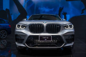 Bangkok, Thajsko - 28. listopadu 2019: BMW X4 xDrive20d na výstavě Motor Expo 36th 2019 na výstavišti Impact Exhibition Center, Muang Thong Thani, Thajsko