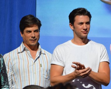 Bryan Dattilo and Billy Flynn attend Day of Days, a special Days of Our Lives fan event. Photo by Michael Mattes/michaelmattes.com