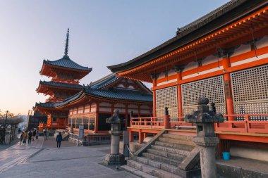 Tamura-do in Kiyomizu-dera temple, is an independent Buddhist temple in eastern Kyoto.