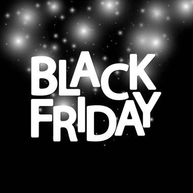 Black Friday Sale, poster design template, super offer, vector illustration
