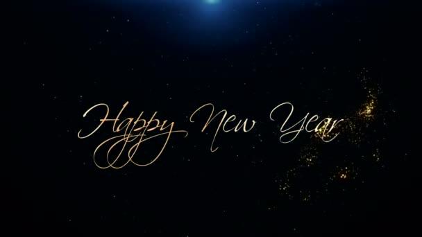 Boldog új évet üdvözlő szép szöveg animálása