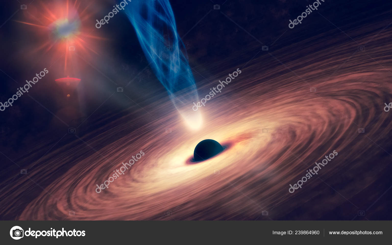 Black And White Outer Space Wallpaper Abstract Space Wallpaper Black Hole Nebula Colorful Stars Cloud Fields Stock Photo C Elf 11 239864960