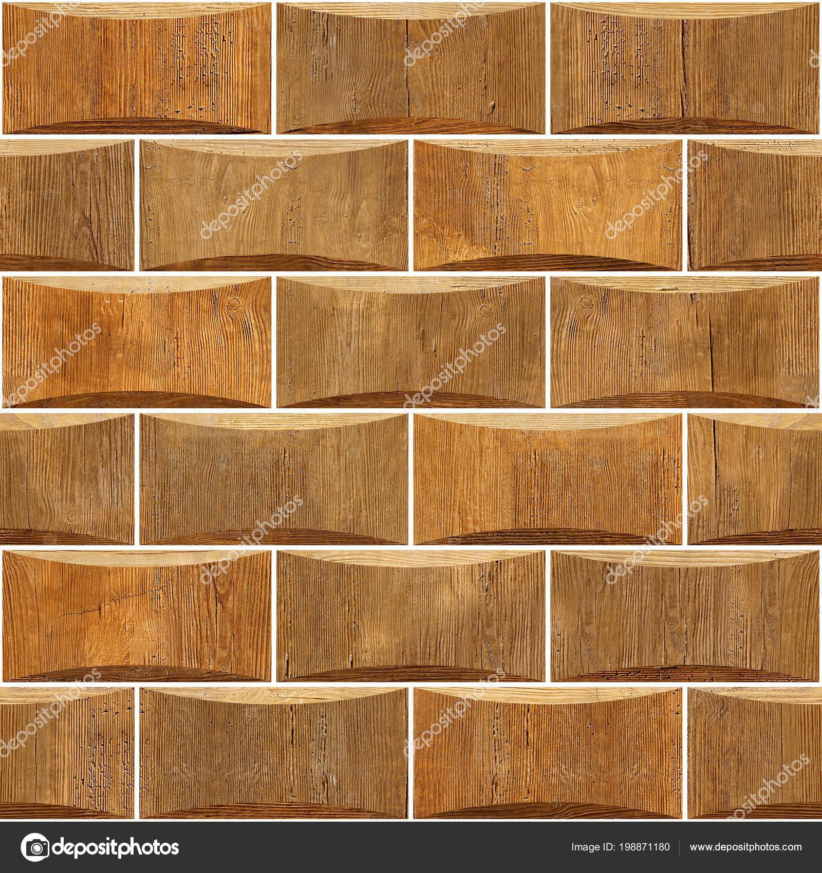 Decorative Wooden Bricks Interior Wall Decoration Abstract Paneling