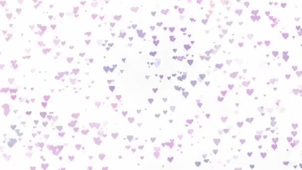 hearts seamless pattern sweet heart love background