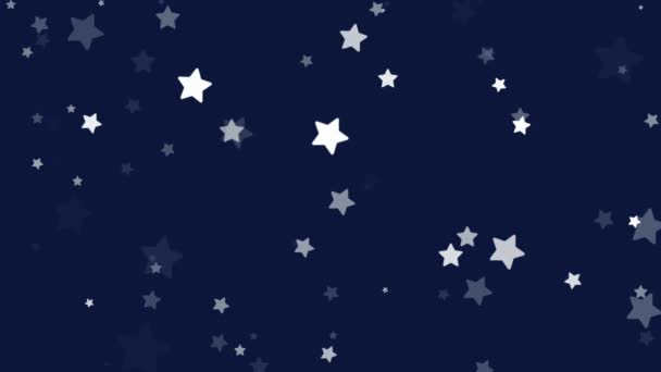 Stardust sparkling blue glitter stars background