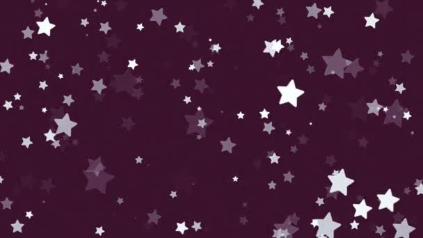 glitter stars snow winter background