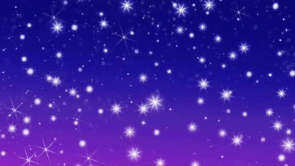 Sněhové vločky zimní hvězdy sníh hvězda modré pozadí