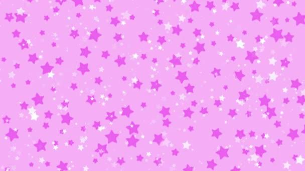 Csillagok háttér édes villogó csillag alakja zökkenőmentes minta