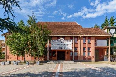 Vrsac, Serbia - June 04, 2020: The National Theatre