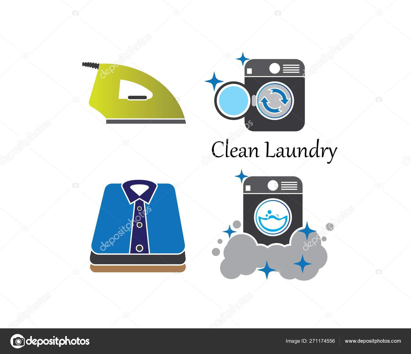 laundry logo vector icon template stock vector c sangidan 271174556 laundry logo vector icon template stock vector c sangidan 271174556