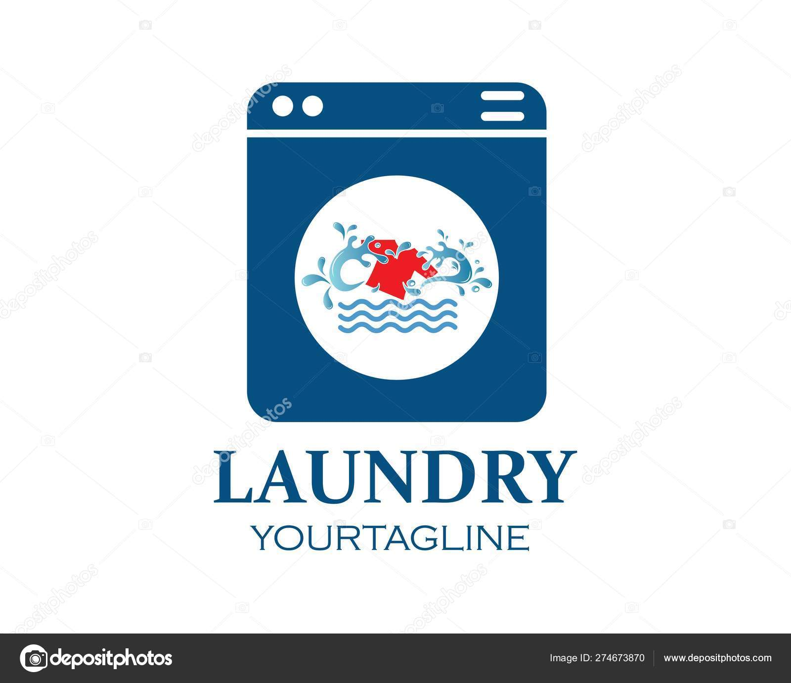 washing clothes logo icon vector of laundry service design stock vector c sangidan 274673870 https depositphotos com 274673870 stock illustration washing clothes logo icon vector html