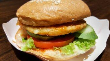 burger handmade street food