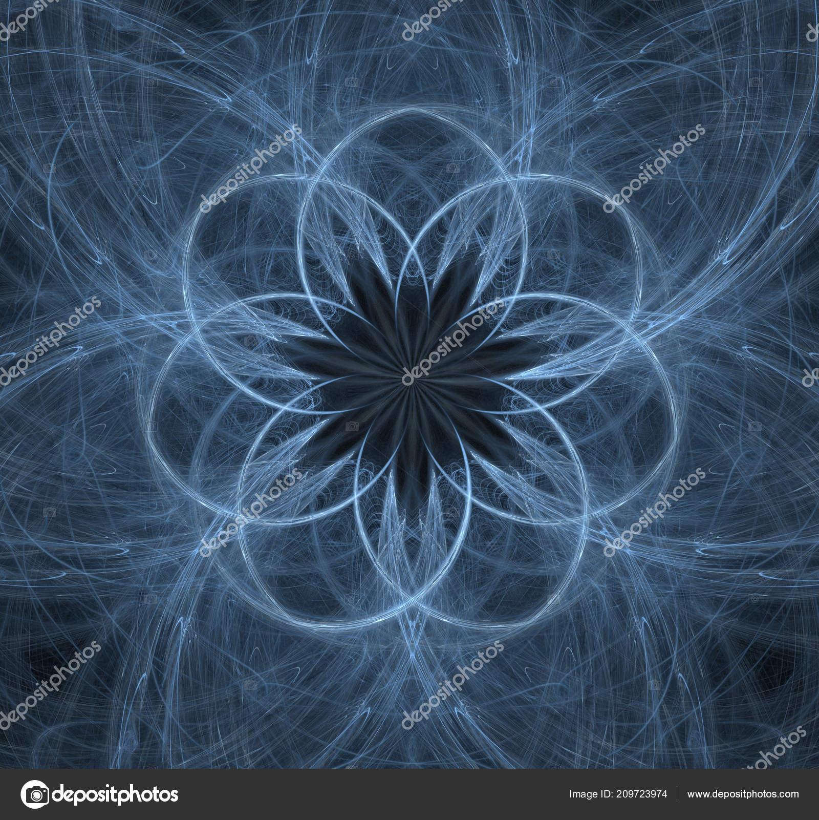 série partículas elementares interação formas fractal abstrato sobre