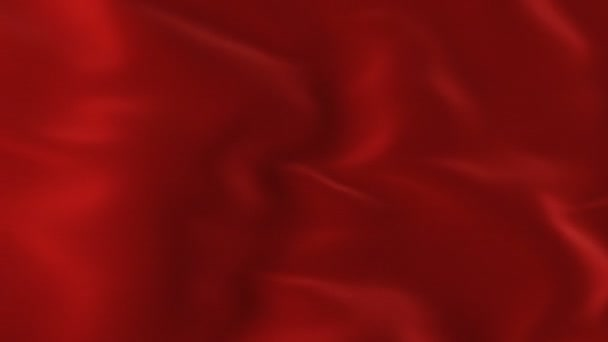 Red Waving Cloth Flying Away Opening Background  Abstract Wavy Silk Textile  Transition 3d Animation with Alpha Mask Green Screen  4k Ultra HD 3840x2160