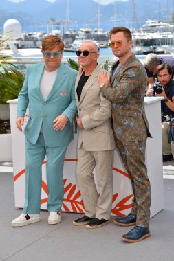 Elton John, Bernie Taupin & Taron Egerton