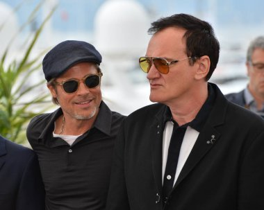 Brad Pitt & Quentin Tarantino