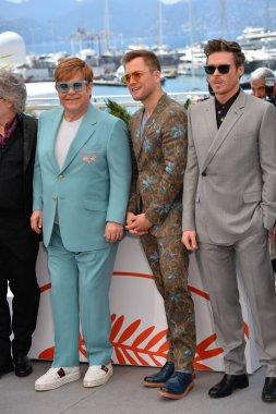 Elton John, Taron Egerton & Richard Madden