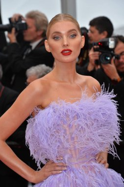 CANNES, FRANCE. May 24, 2019: Elsa Hosk  at the gala premiere for