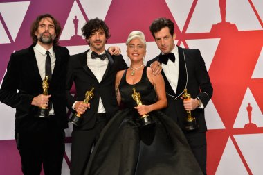 Mark Ronson, Lady Gaga, Anthony Rossomando & Andrew Wyatt
