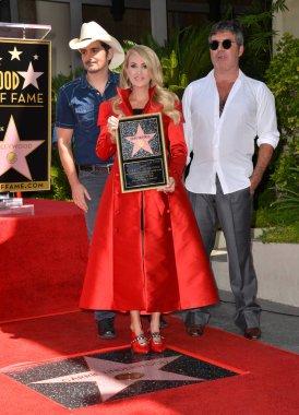 Carrie Underwood, Brad Paisley & Simon Cowell