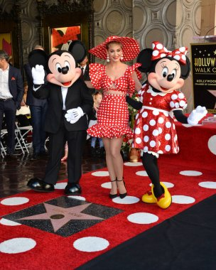 Mickey Mouse, Katy Perry & Minnie Mouse