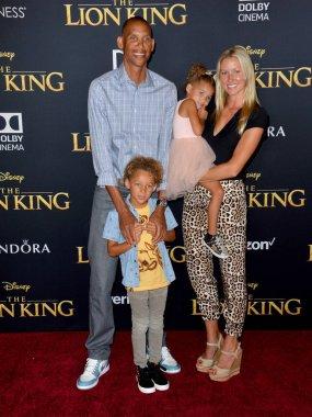 Reggie Miller, Laura Laskowski & Children