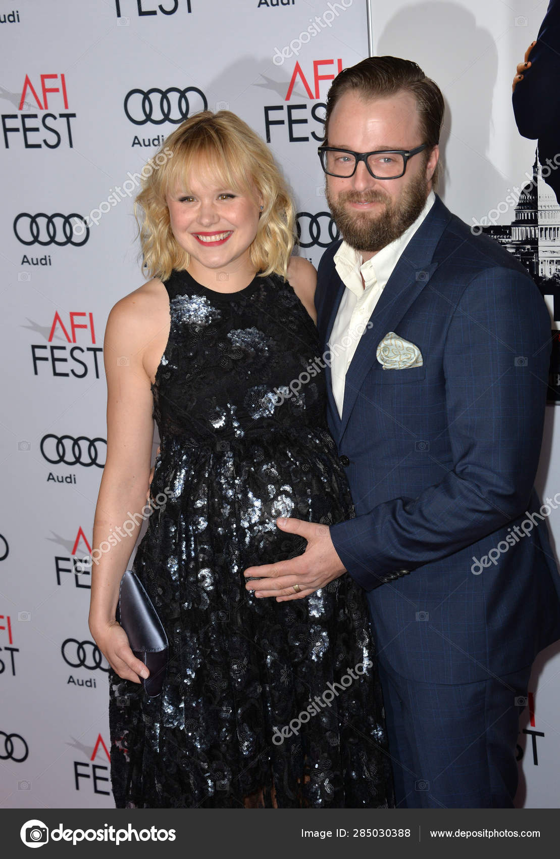 Alison Pill Fotos alison pill & joshua leonard – stock editorial photo