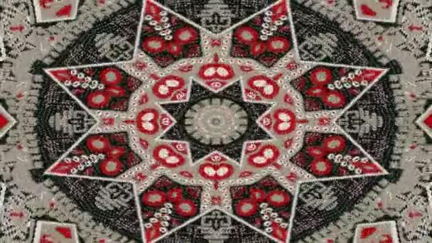 abstrakte symmetrische geometrische Sterne und Formen Kaleidoskop