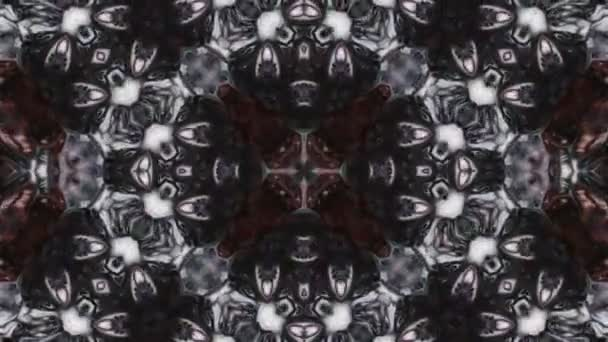 Abstrakte symmetrische geometrische Stars und Formen Kaleidoskop