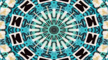 """Картина, постер, плакат, фотообои """"Абстрактных чисел и букв концепции Симметричный узор декоративных декоративные Калейдоскоп движения геометрические круг и звезды фигуры"""", артикул 207999504"""