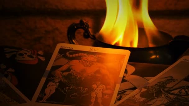 Magical Witchcraft Fortune Teller Mystical Tarot Cards