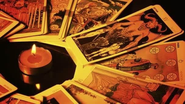 Kouzelné čarodějnictví Fortune Teller mystický Tarot karty