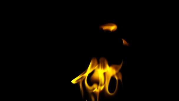 Oheň hořící plamen pozadí