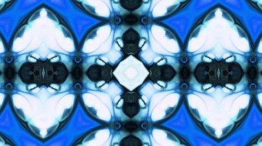 Abstract Colorful Kaleidoscope Background