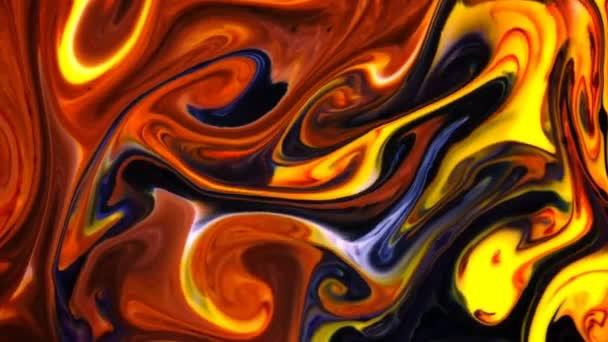 Abstraktní barevná malba likvidní umělecké hnutí