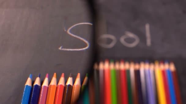 Colorful School Education Tools